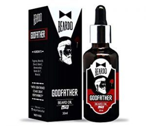 Beardo Godfather Lite Beard and Moustache Oil