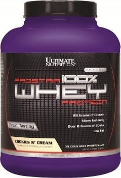 Ultimate Nutrition Prostar whey protein isolate